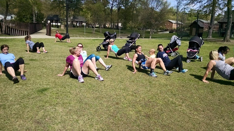 Alt= Outdoor Mommy And Me Time Bootcamp